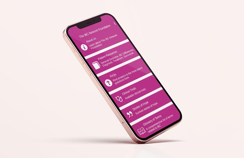 inflammatory breast cancer app